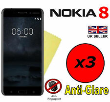 3x HQ MATTE ANTI GLARE SCREEN PROTECTOR COVER SAVER FILMS GUARDS FOR NOKIA 8