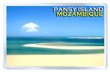 PANSY ISLAND MOZAMBIQUE MOD2 FRIDGE MAGNET SOUVENIR IMAN NEVERA