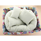 4pcs Newborn Baby Photography Wheat Donut Posing Pillow Basket Filler Photo Prop