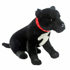 "Staffordshire Bull Terrier Staffy dog soft plush toy DJ 15""/38cm - BOCCHETTA NEW"