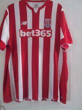 Stoke City 2015-2016 Home Football Shirt Size 4xl xxxxl  /41981
