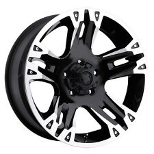 "Ultra 235B Maverick 16x8 5x114.3/5x4.5"" +10mm Gloss Black Wheel Rim"