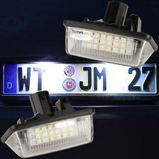SET Kennzeichenbeleuchtung LED SMD Kennzeichenleuchten Nummernschild 7712
