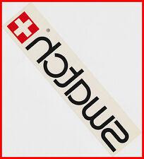 SWATCH Swiss Watch Uhren - Original Aufkleber Sticker / transparant / hinterglas