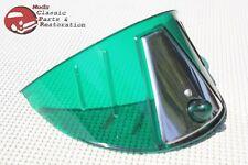 "Motorcycle Headlight GRN Visor Shield 7"" Indian Hog Chopper Harley Yamaha Honda"