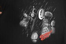 Studio Ghibli Ghibli City Sin City spoof T-Shirt Xl Totoro Noface