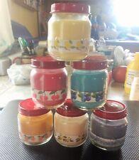 Smoke Odor Exterminator Candles 4oz. Jars Set of 6 Candles