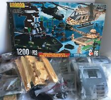 Best-Lock Construction Toys Military Set 1200 Pieces! MB-1