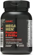 GNC Mega Men Prostate and Virility Multi Vitamins for Sexual Health - 90 Caplets