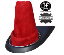 RED SUEDE FITS HONDA CIVIC TYPE R  FN2 2006 TO 2012 GEAR GAITER SHIFT BOOT