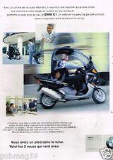 Publicité advertising 2000 Moto BMW C1