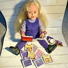 Amazing Ally Interactive Doll With Accessories, Tested and Works Great!