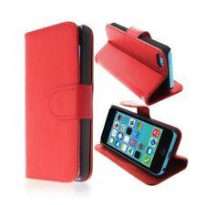 Étuis, housses et coques rouges en cuivre synthétique pour téléphone mobile et assistant personnel (PDA) Apple