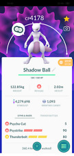 Pokemon Mewtwo Maxed CP Level 40 unlock 3 moveset PvP Master League - Trade