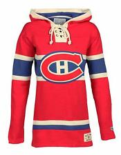 NHL Montreal Canadiens Women's Lacer Heavyweight Hoodie, X-Large, Red