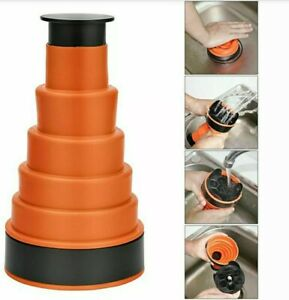 SILICONE MANUAL AIR POWER TOILET BATH SINK PLUNGER DRAIN BLASTER CLEANER TOOL