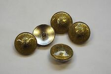 6pc 23mm High Quality Silver Sparkle Lime Metal Blazer Cardigan Button 3397