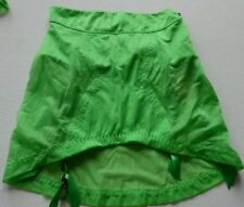 Agent Provocateur Kameelion suspender skirt S sheer green NEW girdle