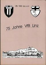 1995 Festschrift 75 Years VfB 1920 Linz (e).V