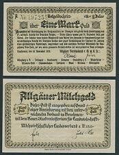 KAUFBEUREN Allgäu Milchgeld 1 Goldmark = 10/42 Dollar 1923 (1)