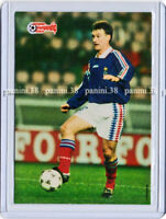 "RARE !! Card DIDIER DESCHAMPS ""EUROPEAN CHAMPIONSHIP STARS 1996"" Panini"