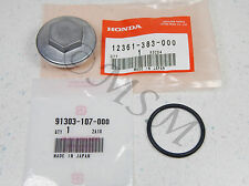 NOS HONDA H5013 H5518 RT5000 LAWN TRACTOR OIL STRAINER DRAIN PLUG COVER H383
