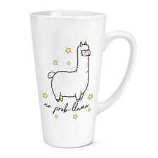 Non Prob-Lama 483ml Grand Latte Tasse - Drôle Lama Alpaga