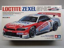 Tamiya 1:24 Scale Loctite Zexel Nissan Skyline R34 GT-R Model Kit # 24225 - Used