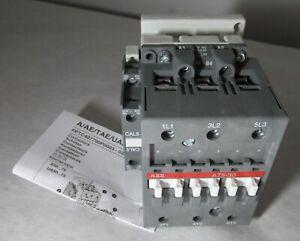 NEW ABB 1SBL411001R8411 A75-30-11 CONTACTOR 110-120V 50HZ/ 60HZ 3-POLE