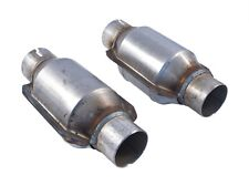 "1996-2010 Ford Mustang SLP 2.5"" High Flow Catalytic Converters Ceramic Substrate"