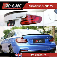 Carbon fibre rear spoiler MP style for BMW 2 series F22