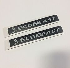 2 FORD ECOBEAST decal emblem overlays ecoboost for 2009 2010   F150