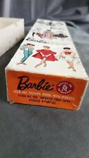 Vintage Barbie _ Original BOX SWIRL Ponytail #850 redhead 1962 Japan _ VHTF