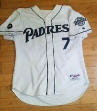 2002 San Diego Padres Camo Game Used Jersey