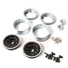 Gmade AR02 6 Lug Aluminum Beadlock Wheels 1.9 Inch Tire RC Cars Crawler #GM70354