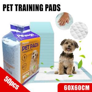 Puppy Pet Dog Cat Training Pads Absorbent Indoor Toilet Australia Brand