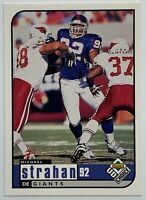 1998 Upper Deck UD Choice #118 Michael Strahan HOF Football Card #92 Giants