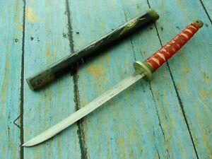 VINTAGE WW2 JAPANESE SAMURI LAYER MINI TANTO KATANA FIGHTING KNIFE SWORD KNIVES