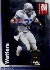 "Ricky Watters 1999 Donruss Elite ""Sportsfest 1999"" Gold Stamp Show Variant RARE!"