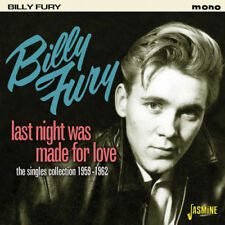 Billy Fury : Last Night Was Made for Love: The Singles Collection 1959 - 1962
