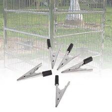 5pcs Cage Clip Parrots Birds Prevent Escape Metal Safety Door Lock Accessories