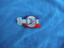 WWII (?) US home front government salesman plastic badge Pilgrim Specialty Co