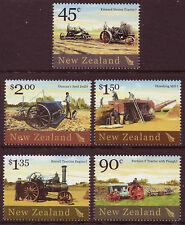 NEW ZEALAND 2004 HISTORIC FARM EQUIPMENT SET OF 5 UNMOUNTED MINT