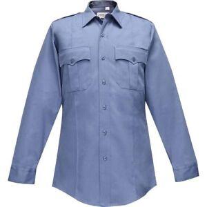 Flying Cross Men's Long Sleeve Uniform Shirt_EMS_FIRE_POLICE_Polyester/Cotton