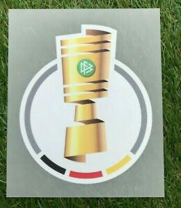 DFB Pokal Logo Patch für Trikot 2021/22  Ärmel Badge Flock 21/22 NEU player size