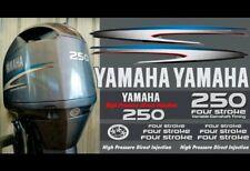 Motor Fuera De Borda Yamaha 250HP cuatro tiempos-Calcomanías De Reemplazo Kit De Gráficos OEM