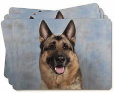 German Shepherd-Alsatian Picture Placemats in Gift Box, AD-G2P