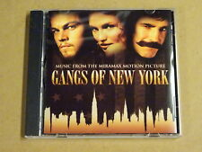 CD / MUSIC FROM THE MIRAMAX MOTION PICTURE GANGS OF NEW YORK
