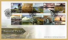 2021 NATIONAL PARKS STAMP SET FDC FIRST DAY COVER - Bakewell Handstamp