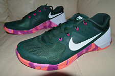 New Nike Mens Metcon 2 AMP Trainer Training Shoes 819902-315 sz 11 Pine Green